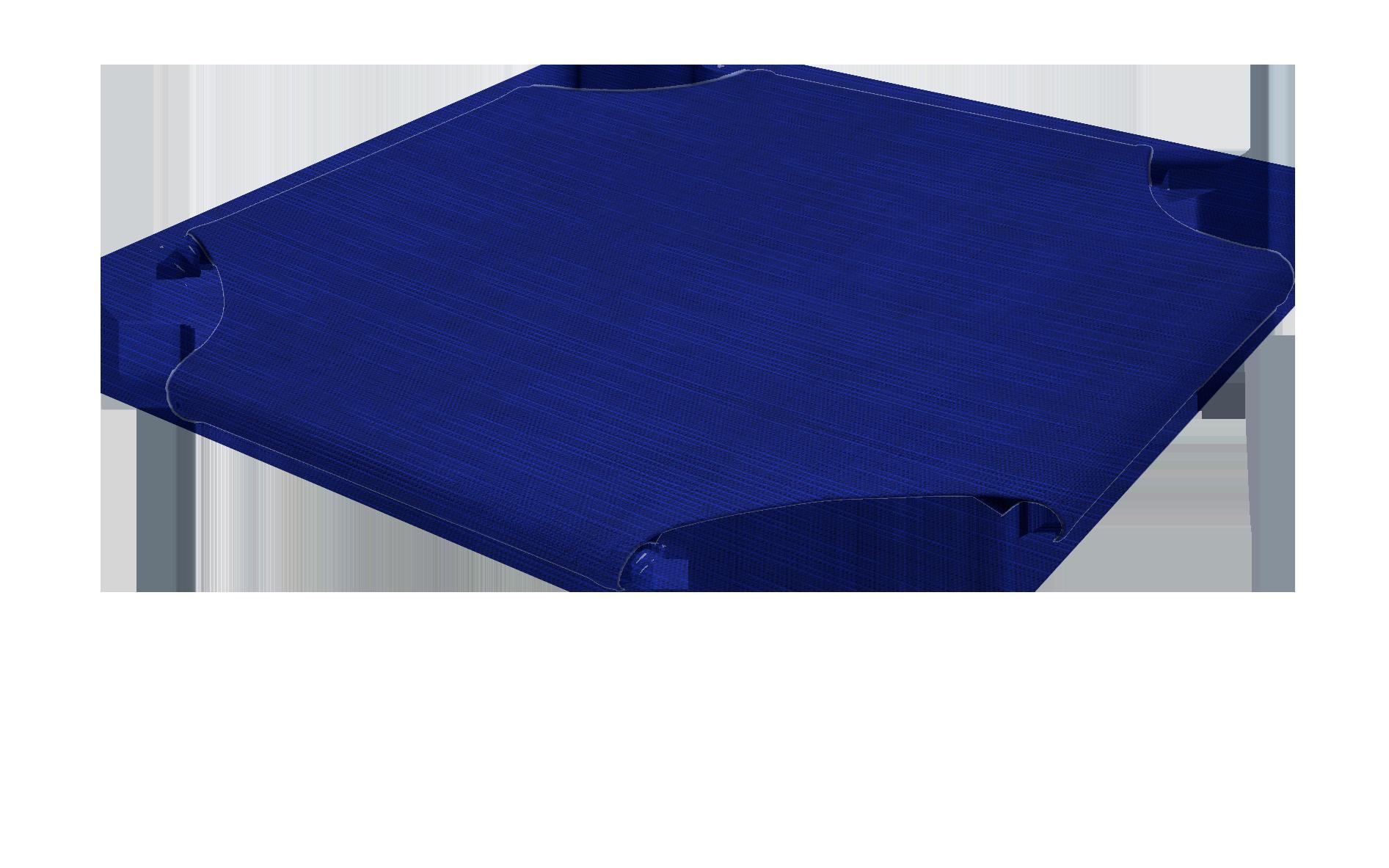 Cobalt Blue Fabric