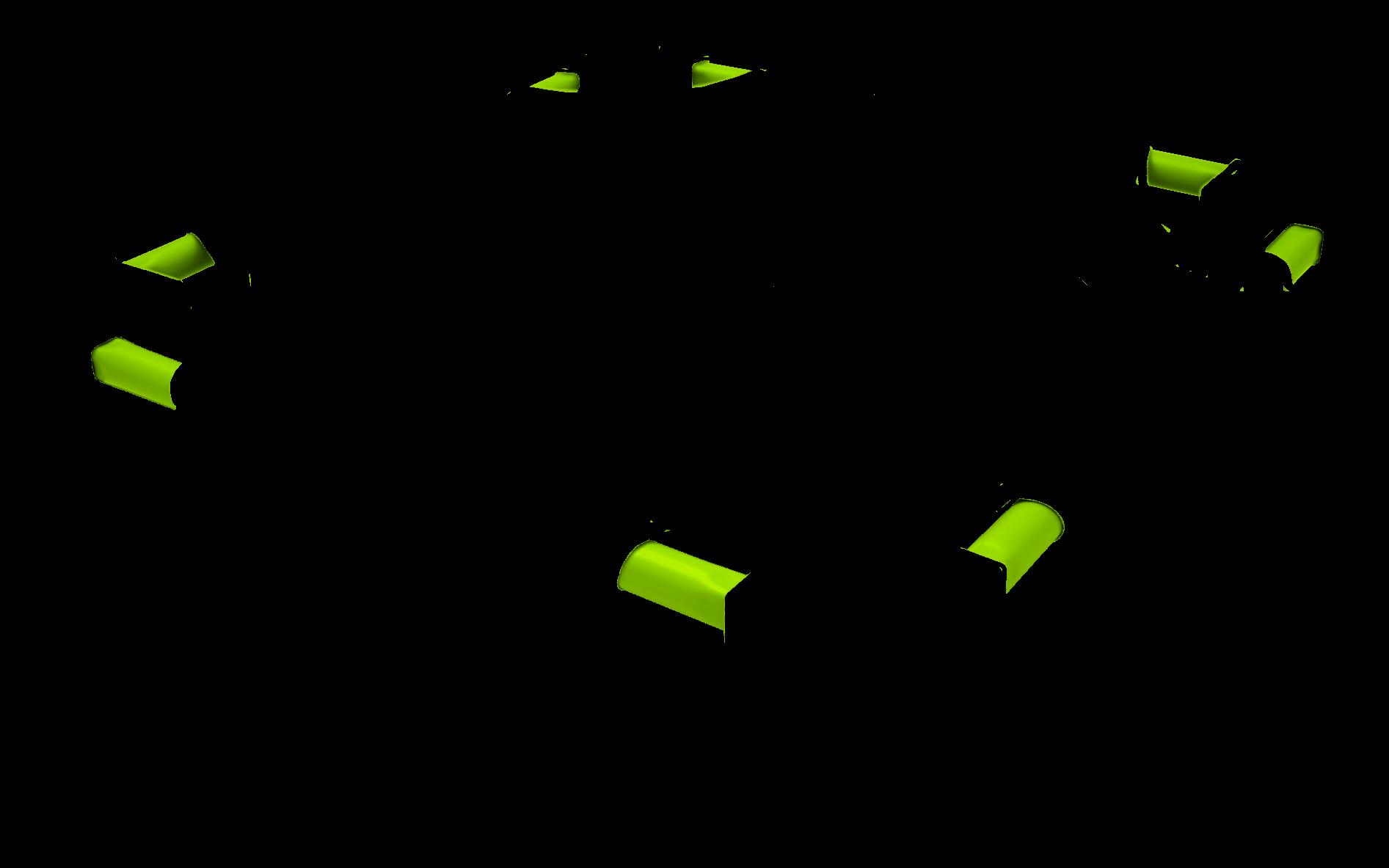 Monster Green Rails