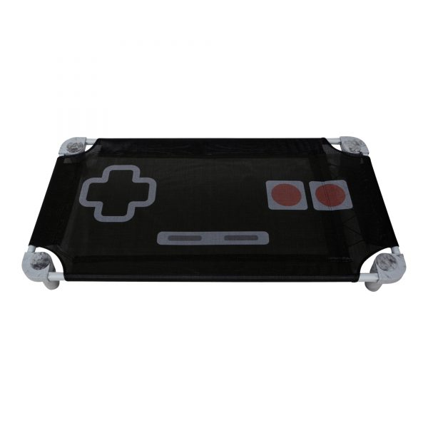 retro gaming printed cot